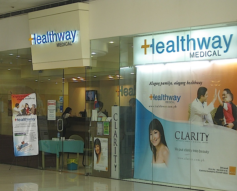 Healthway medical clinic in The Block