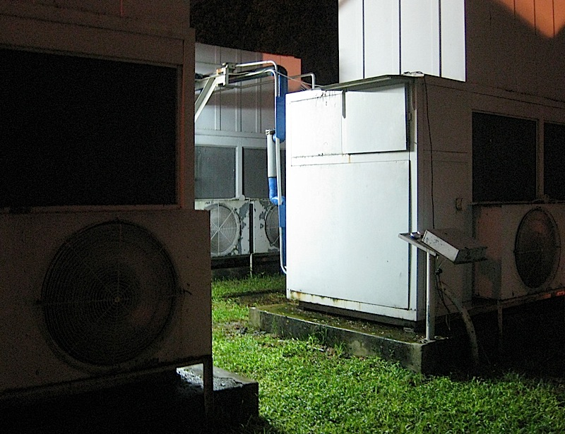 airconditioning system of a large theater