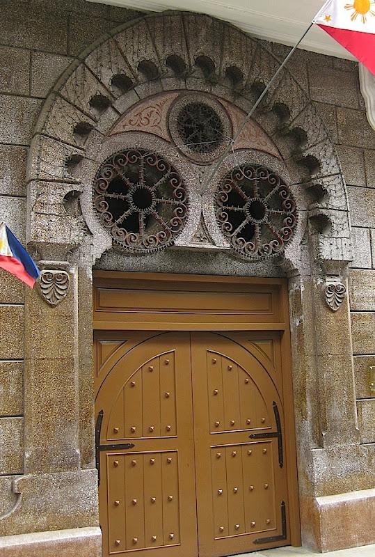 doorway of an office building in Intramuros
