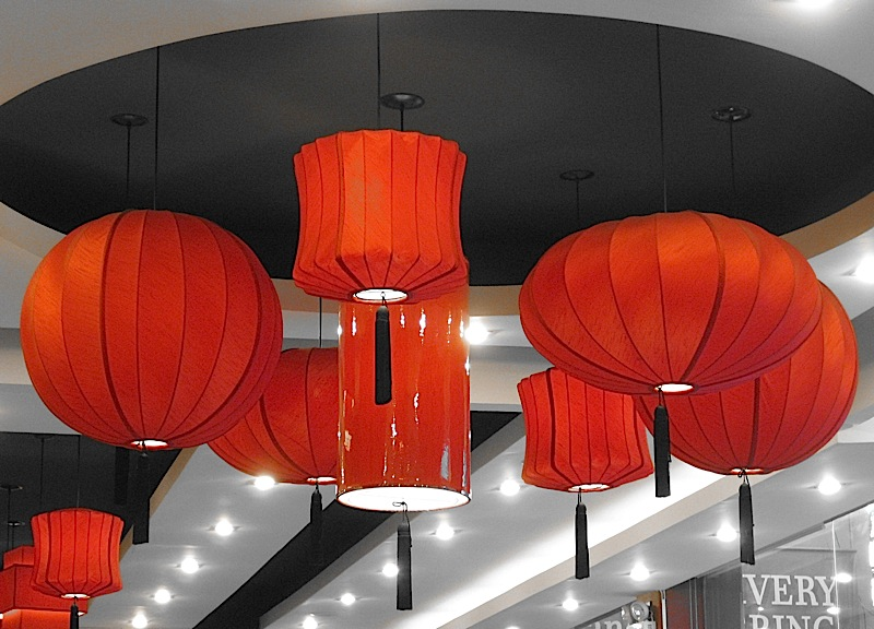 red lanterns at Hap Chan Tea House