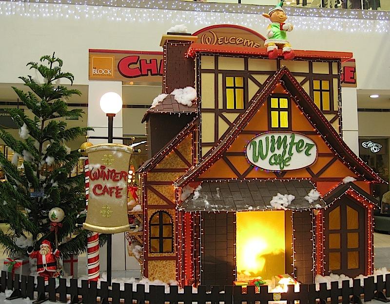 Winter Café at the Christmas Village in The Block at SM City North EDSA