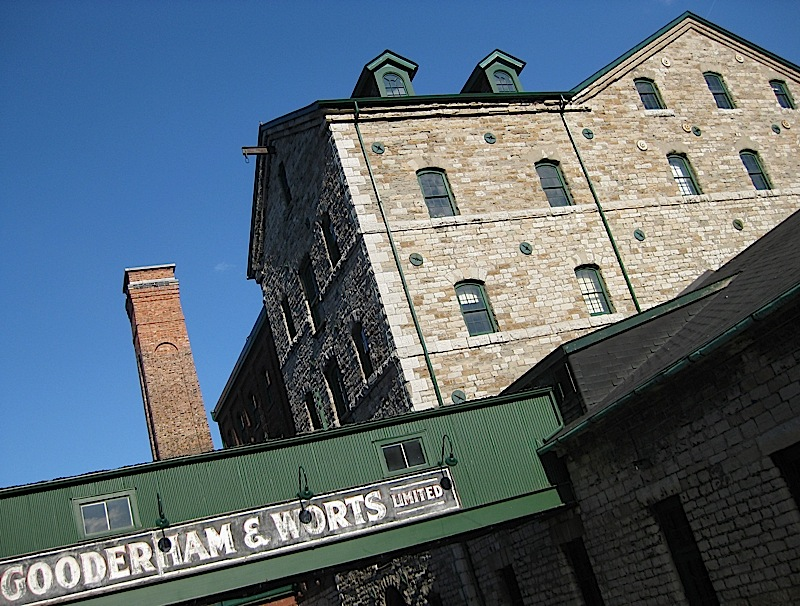 Distillery District in Toronto