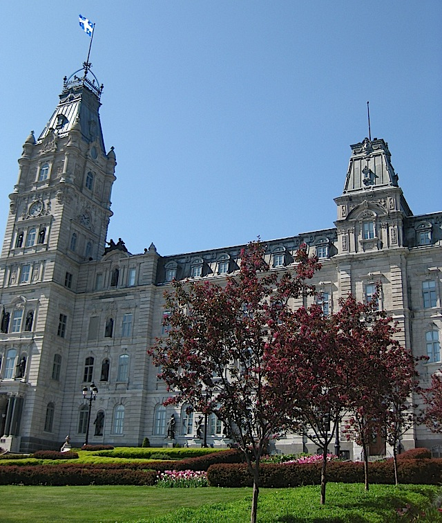 Hôtel du Parlement, Quebec City