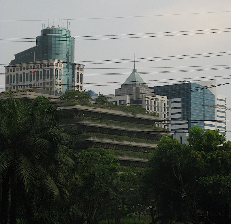 four buildings in Ortigas Center, Pasig City