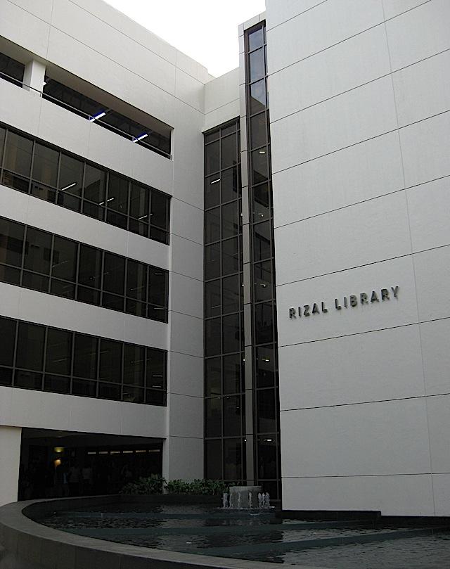 Rizal Library of the Ateneo de Manila University