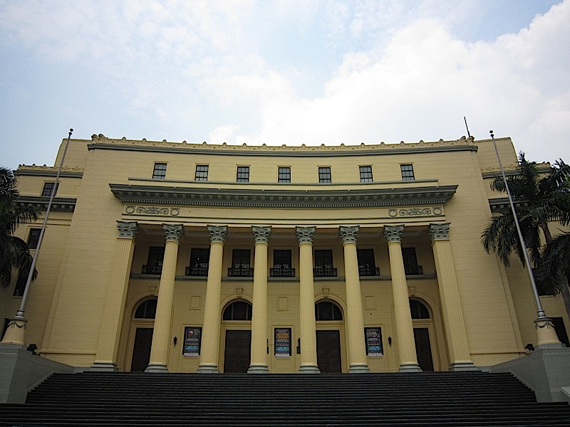 face of the old Finance Building, now the Museum of the Filipino People