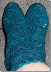 Maelstrom Sock - finished