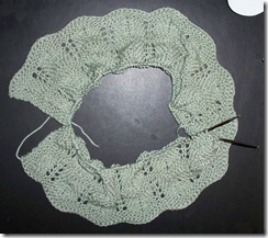 Ripple Afghan - Green FN