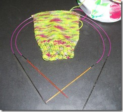 Basic Sock - Abstract Fiber - Sweet Pea