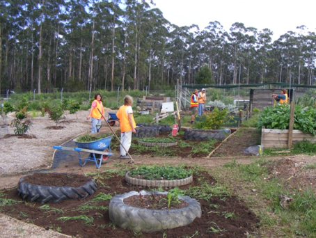 Demonstration Garden for Sustainable Living
