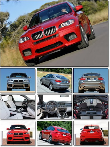 BMW X5M & X6M Wallpapers Pack