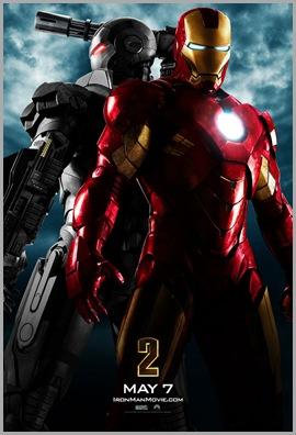 Iron Man 2 movie poster War Machine