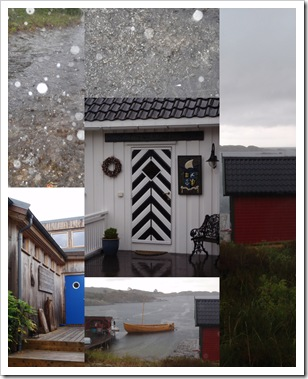 Regnværsdag på øya