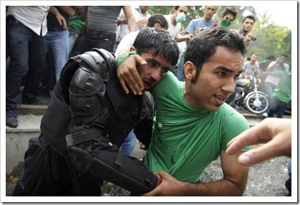 iran protester