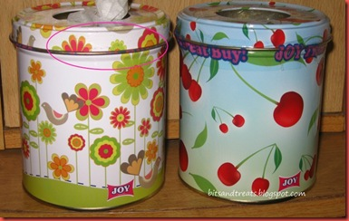 joy tissue canisters, by bitsandtreats