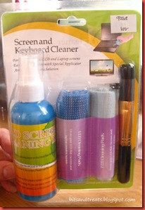 screen and keyboard cleaner