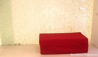 the red seat at qi wellness, by bitsandtreats