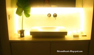 sink at scrub room, by bitsandtreats