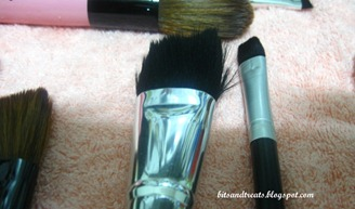 marionnaud angled blush brush after washing by bitsandtreats
