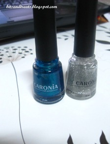 caronia dare and platinum glitter, by bitsandtreats