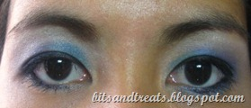blue party eotd, by bitsandtreats