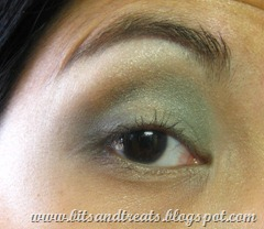 green and gold eotd, by bitsandtreats