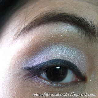 urban decay the feminine palette eotd, by bitsandtreats