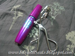 maybelline falsies mascara and shu uemura eyelash curler, by bitsandtreats