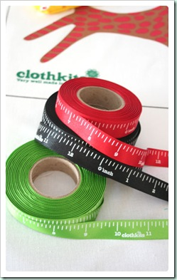clothkitstapemeasure ribbon