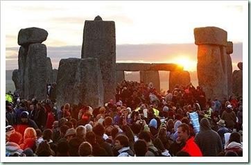 Stonehenge 2010 solstice