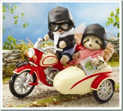 sylvanian george and mildred