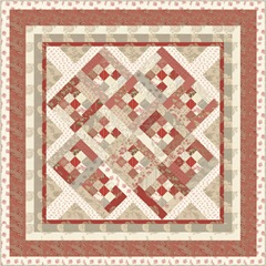 rouenerries quilt no outline