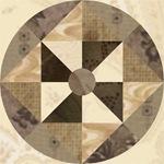 Pinwheel Spin block