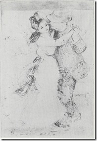 Dance at Bougival - sketch1