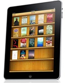 iPad running iBook application