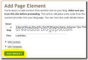 blogger window