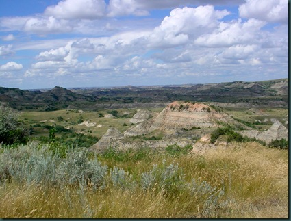 Bismarck to Medora ND 068
