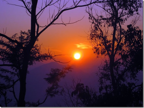 Sunset-@-Gorkha