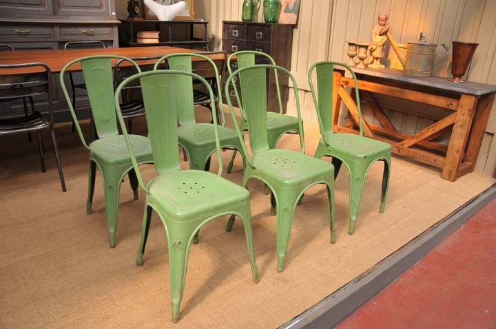 Tolix 20set of 6 light green vintage tolix a chairs 2 jpg
