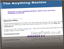 DieselTekk.co.uk - TheAnythingReview.blogspot.com