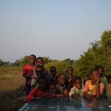 Kids achter op de auto
