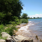 Hoog water in Lake Malawi