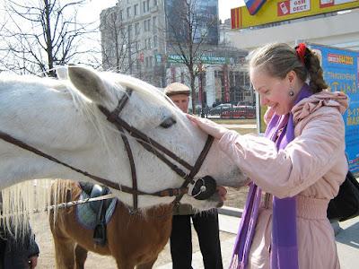 Животные на Цветном бульваре.Фото Вершинин А.В.