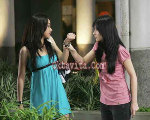 Chelsea Olivia dan Aryani Fitriani