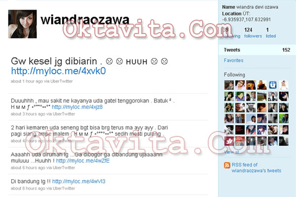 Wiandra Ozawa Tweet