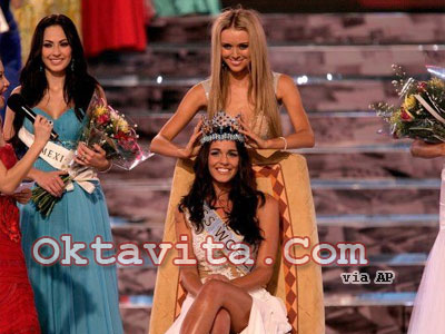 Kaiane Aldorino Miss World 2009