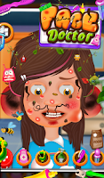 Screenshot of Face Doctor - Free Kids Game
