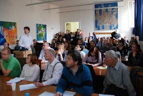Fotografie z přednášky Bezplatné terminologické zdroje a nástroje na Jeronýmových dnech 2010