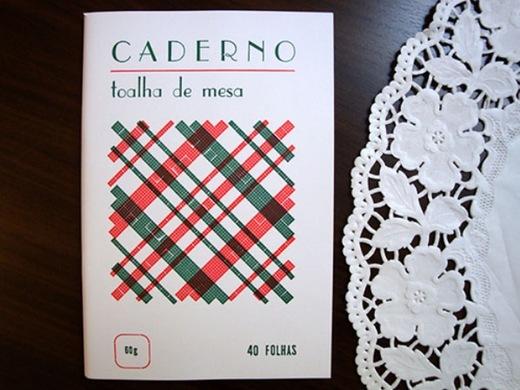 Serrote_Caderno toalha de mesa