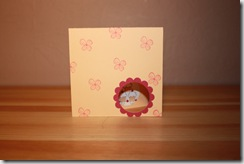 Stampers 6 - Flowers & Cupcakes Card